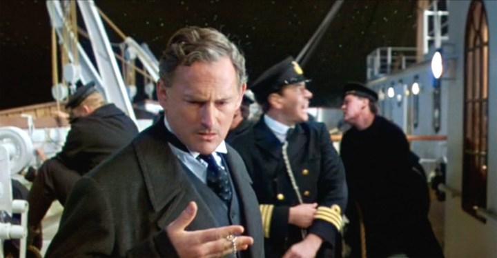Garber em Titanic, filme de 1997, no qual interpretou o construtor do navio, Thomas Andrew.